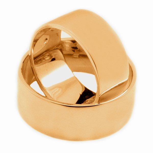 Svadobné obrúčky z červeného zlata 8 mm